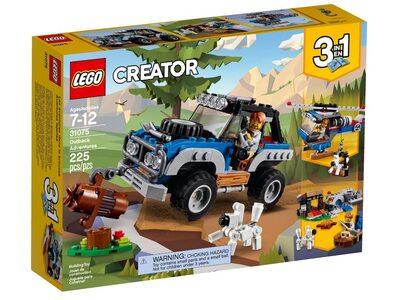 Купить Лего 31075 Приключения в глуши, LEGO Creator.