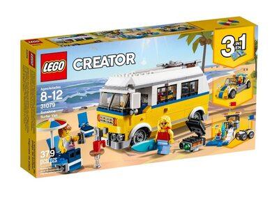 Купить Лего 31079 Солнечный фургон серфингиста, LEGO Creator.