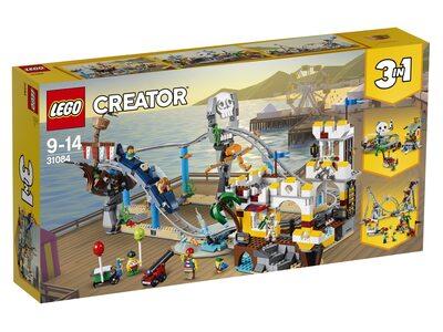Купить Лего 31084 Аттракцион Пиратские горки, LEGO Creator.
