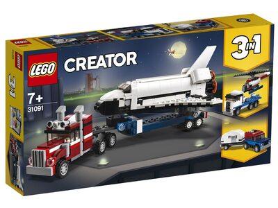 Купить Лего 31091 Транспортировщик шаттлов серии Криейтор.