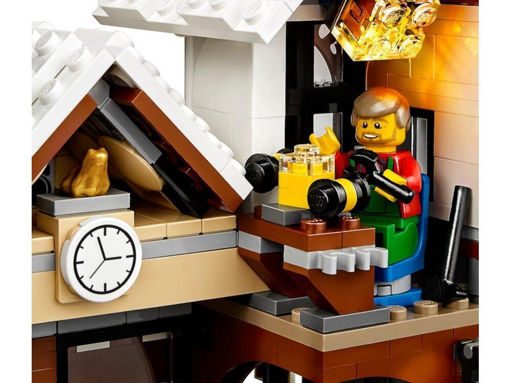Lego creator 10249 зимний магазин игрушек