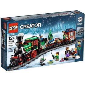 Зимний праздничный поезд