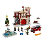 Купить Лего 10263 Новогодняя Пожарная Станция серии Криейтор Эксперт.