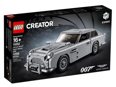 Купить Лего 10262 Астон Мартин Джеймса Бонда, Creator Expert.