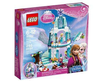 Блестящий ледяной замок Эльзы