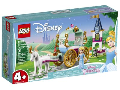 Купить Лего 41159 Карета Золушки серии Принцессы Дисней.