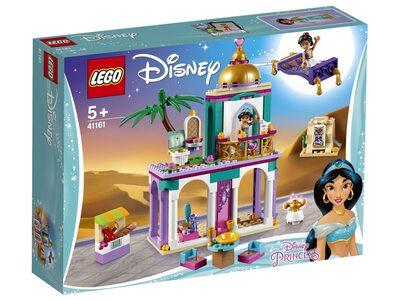 Купить Лего 41161 Приключения Аладдина и Жасмин во дворце серии Принцессы Дисней.