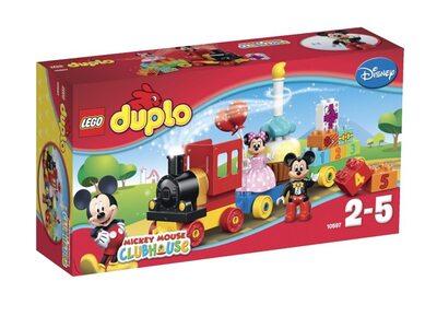 Купить Лего 10597 День рождения с Микки и Минни, Duplo.