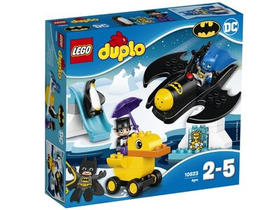 Купить Лего 10823 Приключения на Бэтмалете, DUPLO.