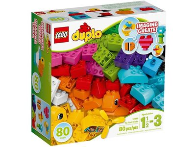 Купить Лего 10848 Мои первые кубики, LEGO DUPLO.