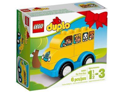 Купить Лего 10851 Мой первый автобус, LEGO DUPLO.