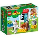 Купить Лего 10870 Ферма: Домашние животные, DUPLO.