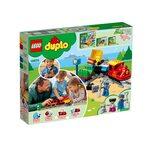 Купить Лего 10874 Поезд на паровой тяге, LEGO Duplo.