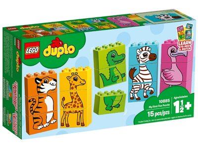 Купить Лего 10885 Мой первый пазл серии Дупло.