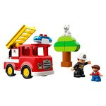 Купить Лего 10901 Пожарная машина серии Дупло.