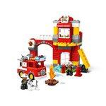 Купить Лего 10903 Пожарное депо серии Дупло.