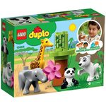 Купить Лего 10904 Детишки животных серии Дупло.