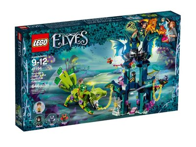Купить Лего 41194 Башня Ноктуры и побег земляной лисицы, Elves.