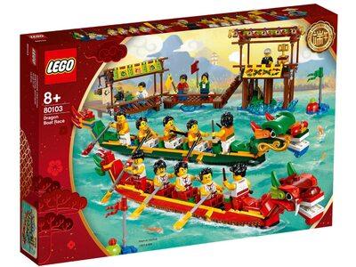 Купити Лего 80103 Гонка на човнах-драконах, колекційний набір.
