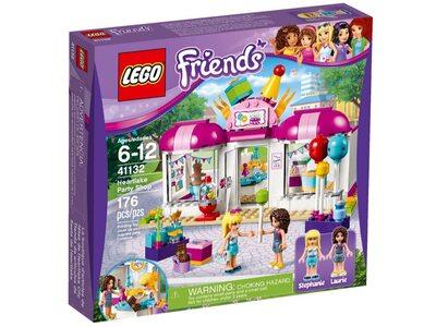 Купить Лего 41132 Магазин товаров для вечеринок в Хартлейке, LEGO Friends.