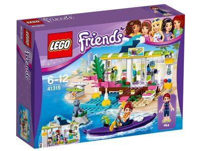 Купить Лего Френдс 41315 Сёрф-станция, LEGO Friends.