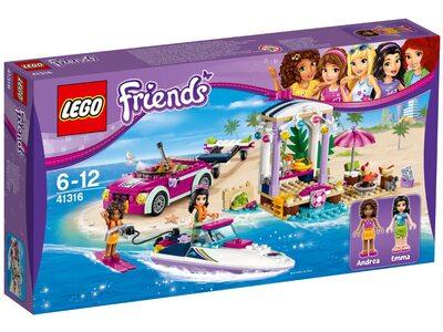 Купить Лего Френдс 41316 Скоростной катер Андреа, LEGO Friends.