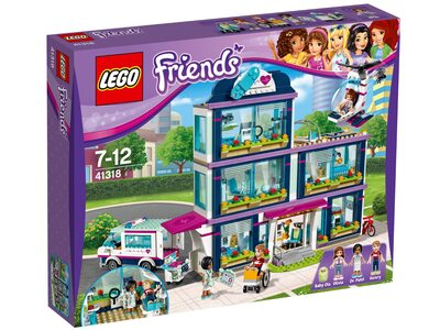 Купить Лего Френдс 41318 Клиника Хартлейк-Сити, LEGO Friends.