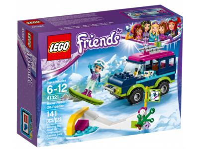 Купить Лего Френдс 41321 Горнолыжный курорт: внедорожник, LEGO Friends.