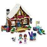 Купить Лего Френдс 41323 Горнолыжный курорт: Шале, LEGO Friends.