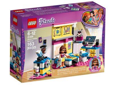 Купить Лего 41329 Спальня Оливии, LEGO Friends.