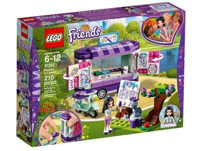 Купить Лего 41332 Передвижная творческая мастерская Эммы, LEGO Friends.