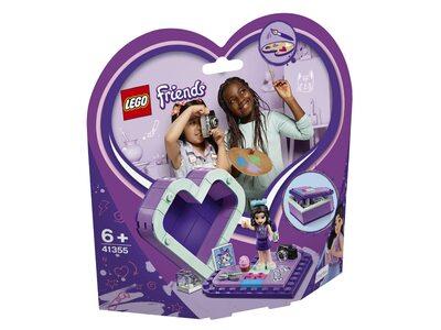 Купить Лего 41355 Шкатулка-сердечко Эммы серии Френдс.