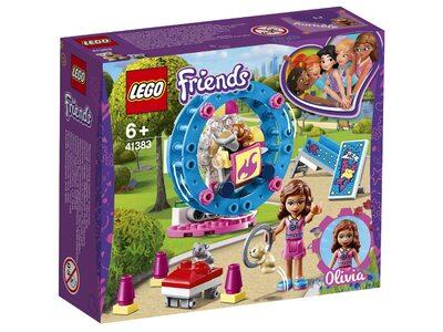 Купить Лего 41383 Игровая площадка для хомячка Оливии серии Френдс.