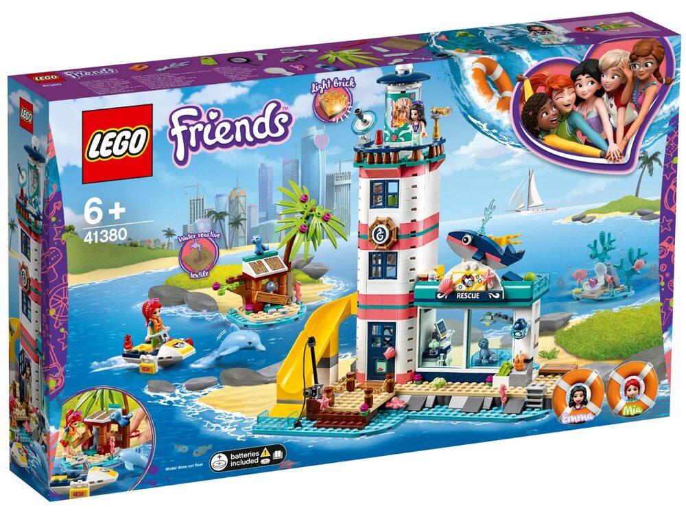 Lego friends 41380 спасательный центр на маяке конструктор
