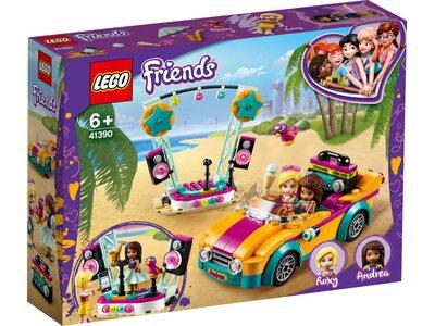 Купити Лего 41390 Машина Андреа і сцена Френдс.