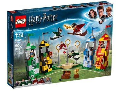 Купить Лего 75956 Матч Квиддич, Harry Potter.