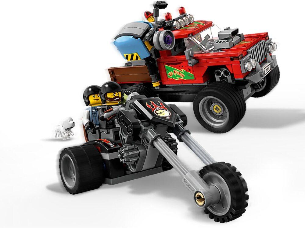 Лего хидден сайд герои