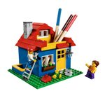 Лего Карандашница 40154 в виде Дома LEGO Iconic