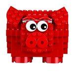 Лего копилка 40155 в виде свинки LEGO Iconic