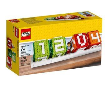 Календарь из кубиков LEGO Iconic
