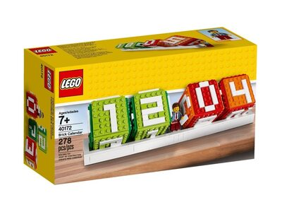 Календарь Лего из кубиков 40172 LEGO Iconic
