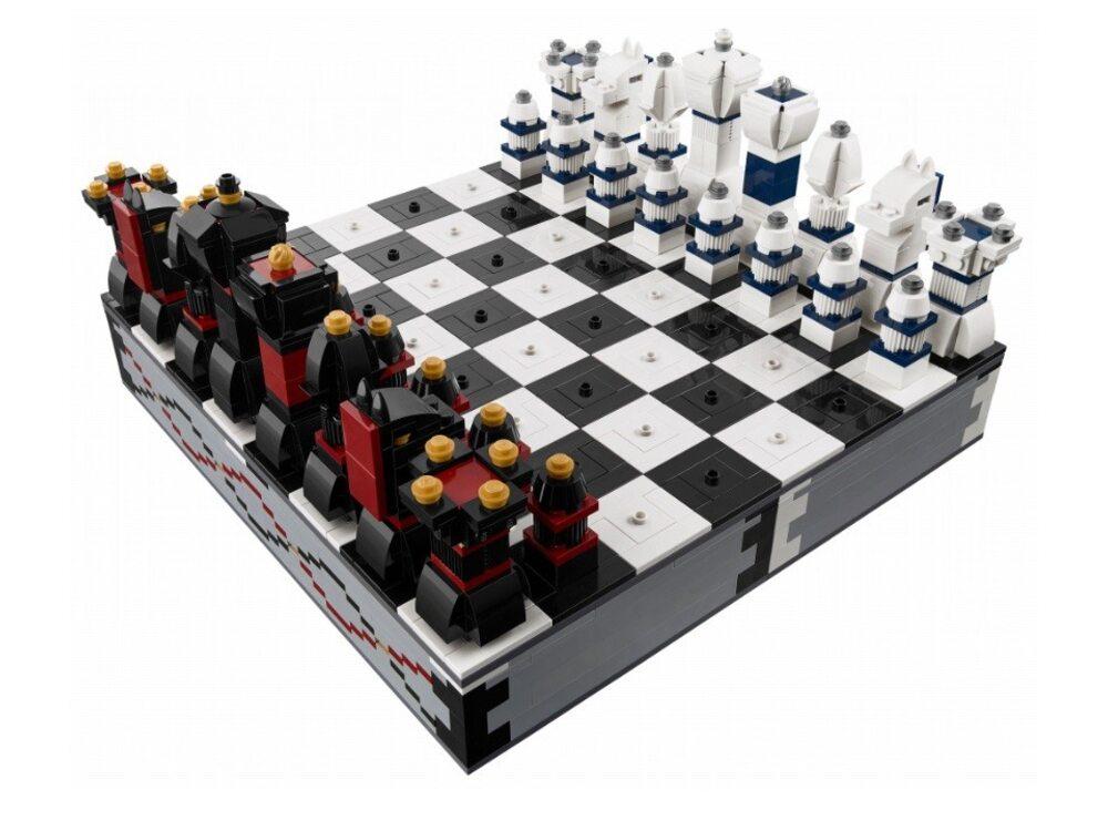 Купить лего шахматы