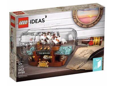 Купить Лего 21313 Корабль в бутылке, Ideas.