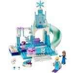 Купить Лего Джуниорс 10736 Игровая площадка Эльзы и Анны/