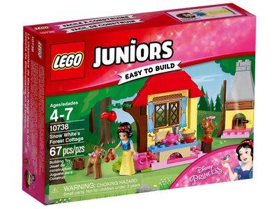 Купить Лего 10738 Лесной домик Белоснежки, Джуниорс.