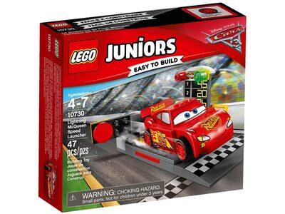 Купить Лего Джуниорс 10730 Пусковая установка Молнии Маккуина, LEGO Juniors