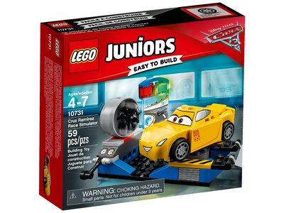 Купить Лего Джуниорс 10731 Гоночный тренажёр Крус Рамирес, LEGO Juniors