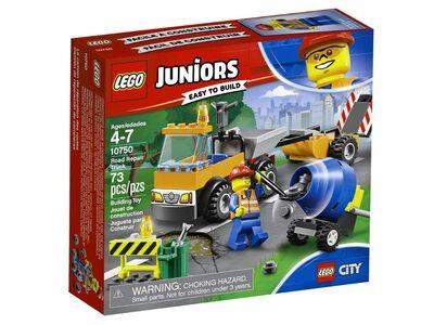 Купить Лего 10750 Грузовик дорожной службы, LEGO Juniors.