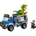 Купить Лего 10757 Грузовик спасателей для перевозки Раптора, LEGO Juniors.