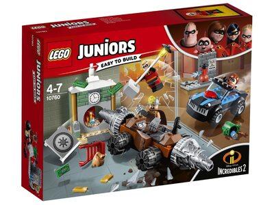 Купить Лего 10760 Подрывашкин грабит банк, LEGO Juniors.